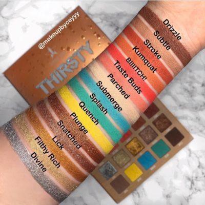 Jeffree Star Thirsty palette