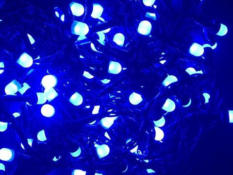 Штора-гірлянда матова Лінза D 300 LED 3 на 2 м. тепло-біла