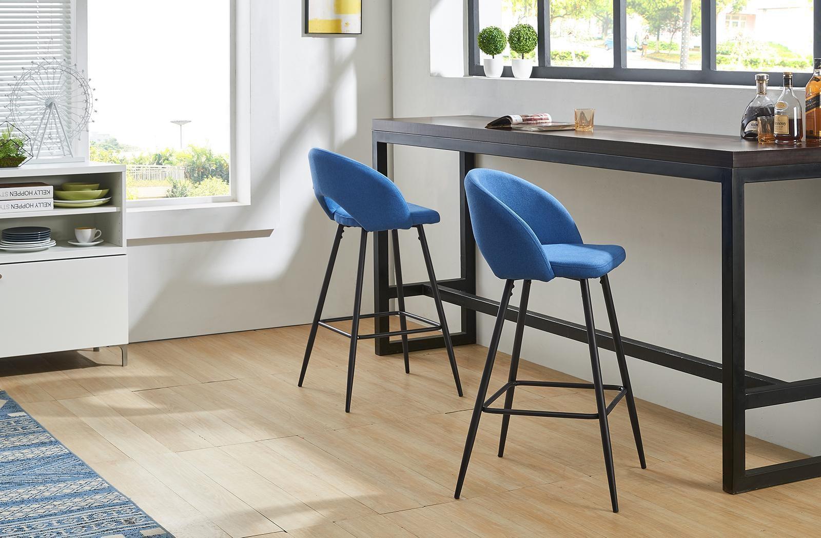 Барные стулья DC-873 синий (Blue)