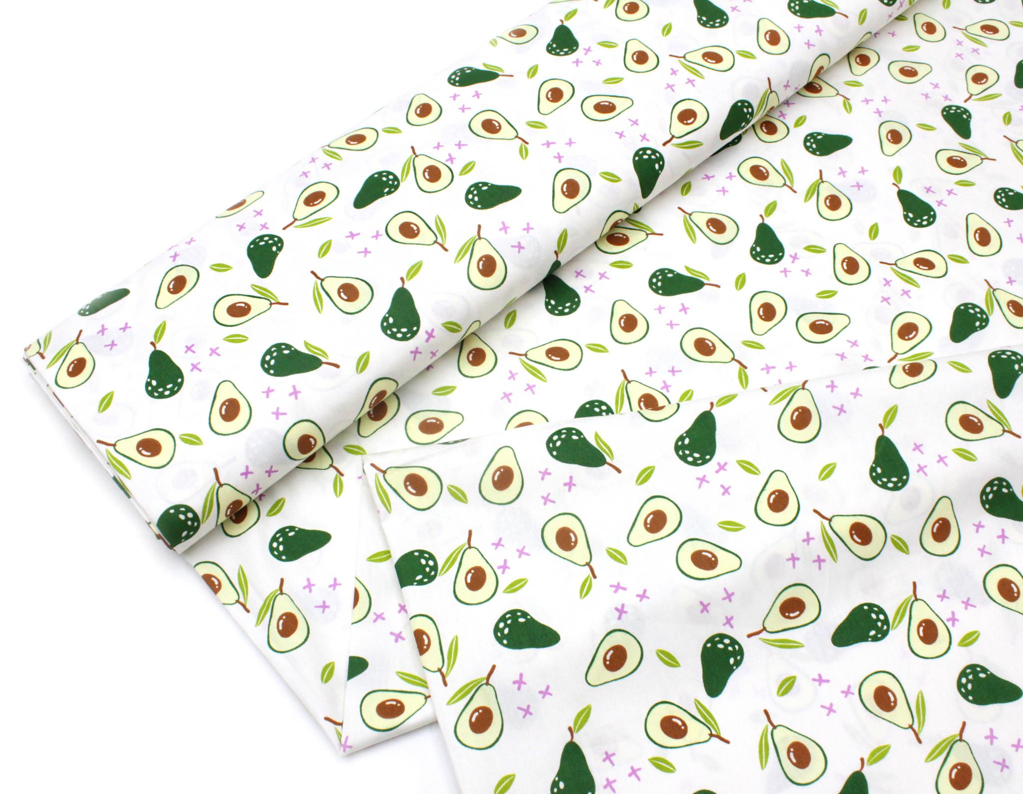 Авокадо на белом