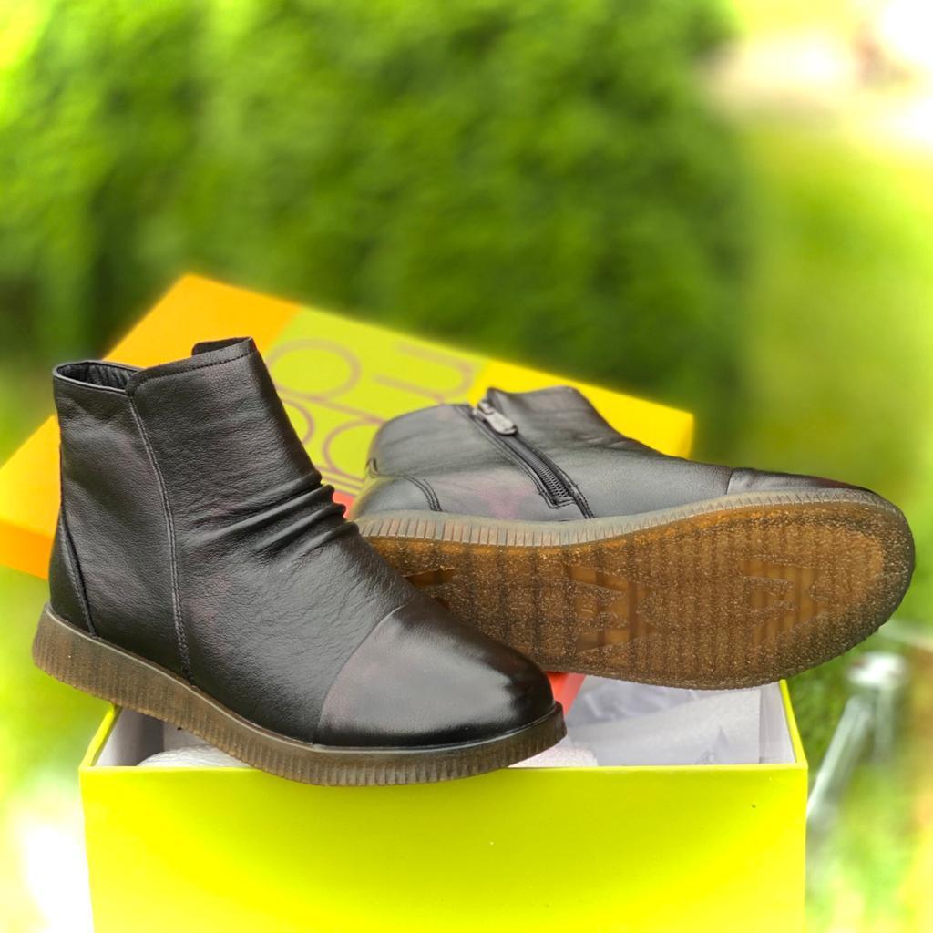 Madella Ботинки XUS-02948-2A-KB черн кожа