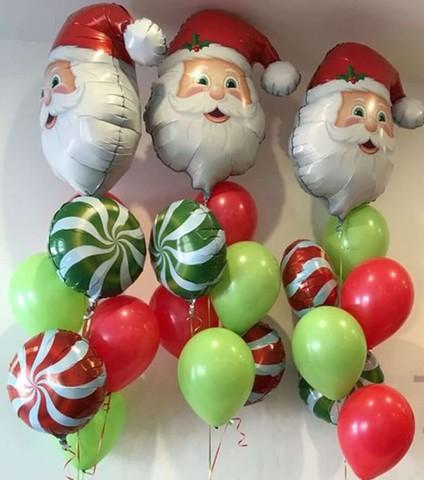 Новогодний фонтан Дед Мороз