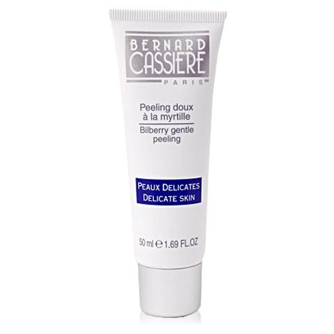 BERNARD CASSIERE линия с Черникой: Мягкий пилинг для лица с Черникой (Bilberry gentle peeling), 50мл