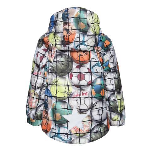Molo Hopla Footballs демисезонная куртка для мальчика