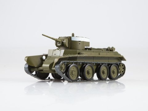 Tank BT-7 Our Tanks #49 MODIMIO Collections