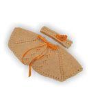 Вязаное пончо - Персик. Одежда для кукол, пупсов и мягких игрушек.