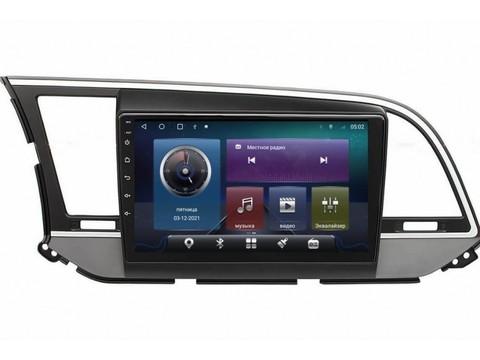 Головное устройство Hyundai Elantra 2016+ Android 10 4/64GB IPS DSP модель CB-2088TS10