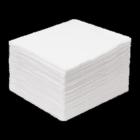 1-Touch Салфетка из хлопка с Тиснением 20х20 100 шт/уп