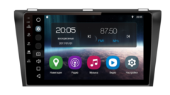 Штатная магнитола FarCar S200 для Mazda 3 09-13 на Android (V034R-DSP)