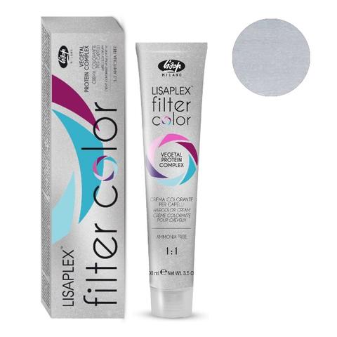 Оттенок глянцевый металлик Крем-краситель для волос Lisaplex Filter Color 100мл