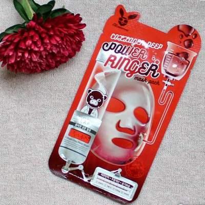 Тканевая маска для лица с коллагеном Elizavecca Collagen Deep Power Mask