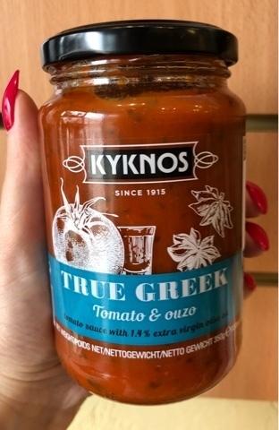 Соус из томатов и узо Kyknos 330 гр