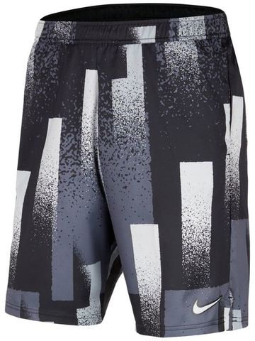 Шорты теннисные Nike Court Dry-Fit Short 9in Print / CK9771-010