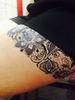 Флеш тату / Flash Tattoo №JO36 купить за 200руб