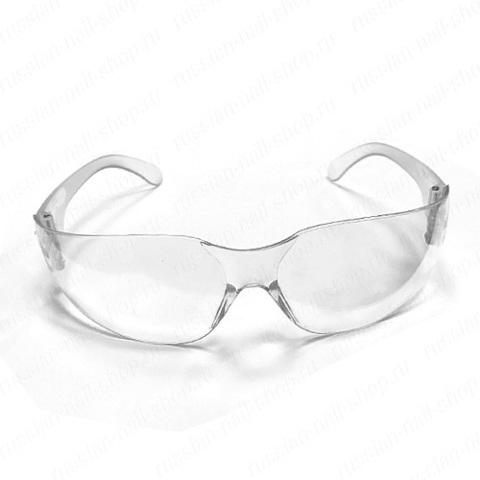 Очки защитные многоразовые, пластик Patrisa Nail M120