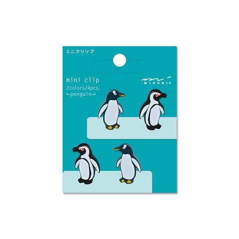 Зажимы Midori Mini Clip - Penguin