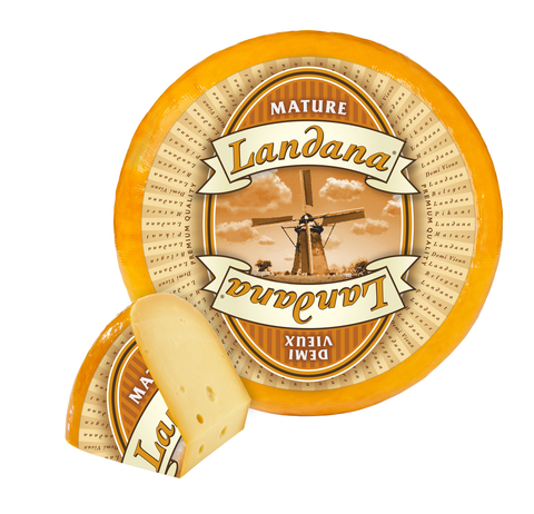 Сыр Ландана Сливочная (Голландия) СЫРЫ И КОЛБАСЫ ИП ПОТАПОВА