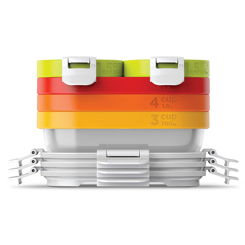 Набор из 5 контейнеров Neat Stack и охлаждающего блока