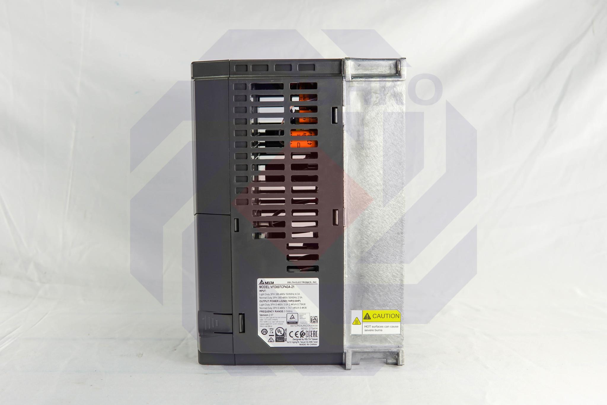 Преобразователь частоты DELTA CP2000 0,75 кВт