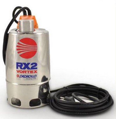 Насос дренажный PEDROLLO RX 2/20 VORTEX (кабель 5м.) 7м, 10.8м3/ч.