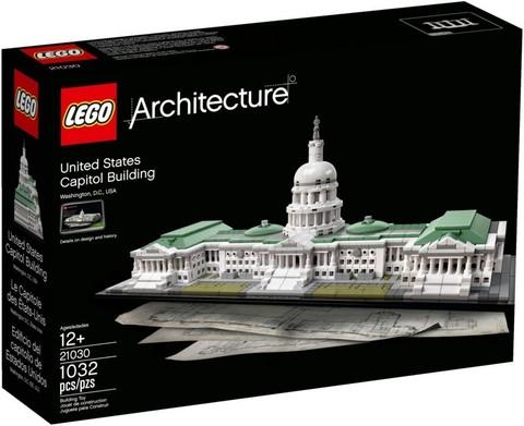 LEGO Architecture: Здание Капитолия США 21030 — United States Capitol Building — Лего Архитектура