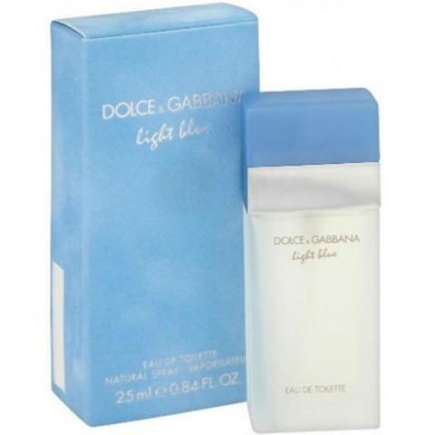 DOLCE & GABBANA: Light Blue женская туалетная вода edt, 25мл/50мл