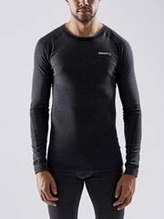 Комплект термобелья мужской Craft Core Wool Merino, black melange - 2