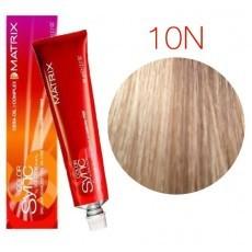Matrix Color Sync: Neutral 10N очень-очень светлый блондин натуральный, крем-краска без аммиака, 90мл