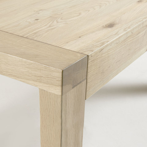 Обеденный стол Vivy 200(280)x100 натуральный дуб