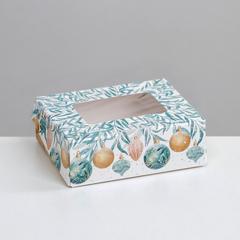 Коробка складная «Праздничная», 10  8  3.5 см