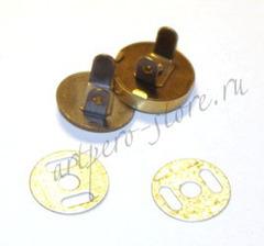 Кнопка магнитная, d - 18 мм., h- 5 мм. (выберите цвет)