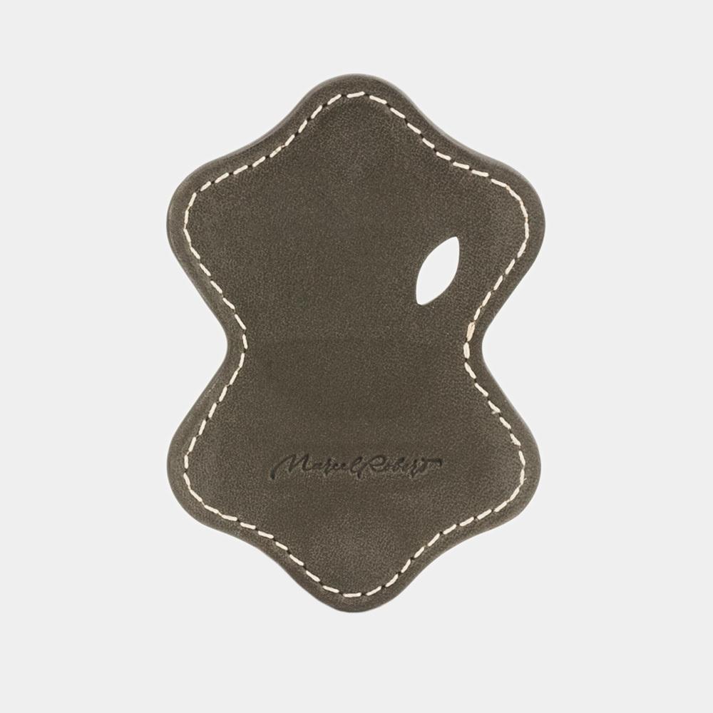 Чехол-держатель для наушников Chapeau Easy из натуральной кожи теленка, цвета хаки