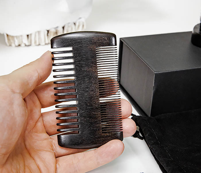 CARE151-1 Подарочный набор из щетки и гребня для бороды фото 07