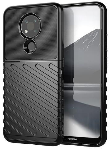 Противоударный чехол на смартфон Nokia 3.4, высокий уровень защиты, серия Onyx от Caseport