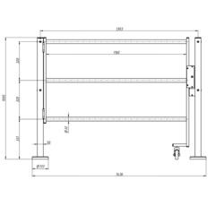 RTA-02 Электромеханическая секция Антипаника CARDDEX