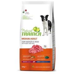 Сухой корм Trainer Natural Medium with beef and rice