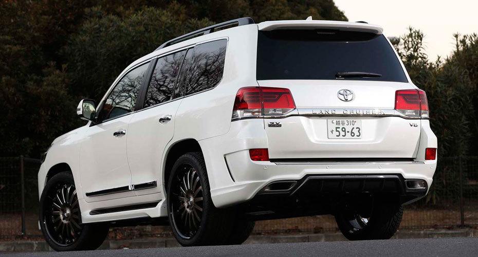 Обвес Elford для Toyota Land Cruiser 200 2016+