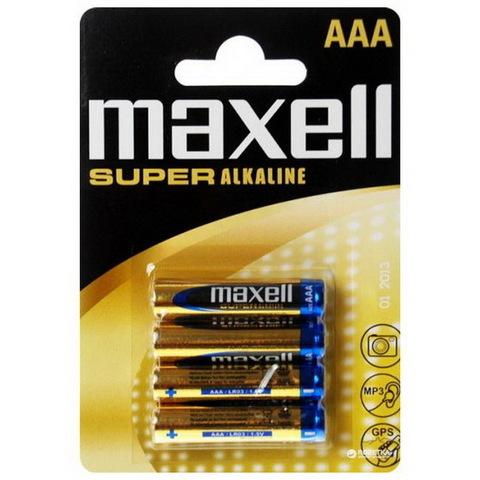 Батарейки Maxell Super Alkaline LR03, AAA (4/48) BL