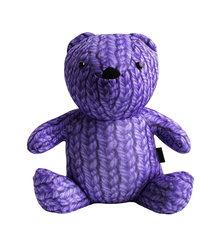 Подушка-игрушка антистресс Gekoko «МиниМишка Вязаный», фиолетовый 2