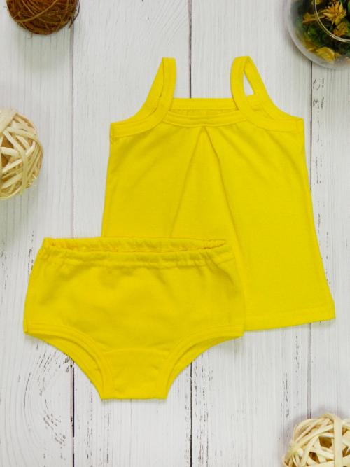 Комплект для девочки, 2661, желтый