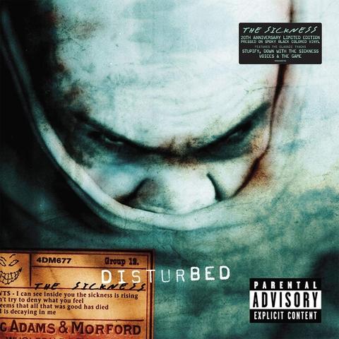 Виниловая пластинка. Disturbed - The Sickness