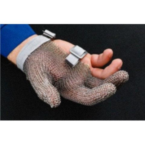 Перчатка кольчужная 3 пальца (сред) | Soliy.com.ua