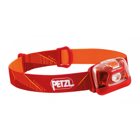 Фонарь светодиодный налобный Petzl Tikkina красный, 250 лм