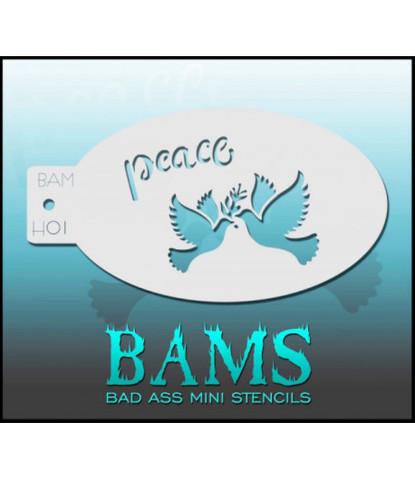 Трафарет BAM - H01