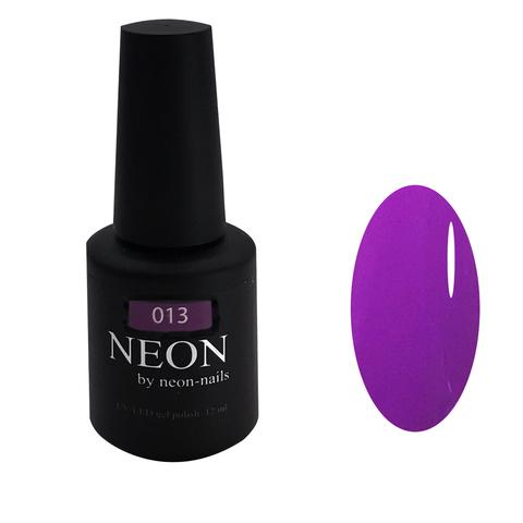 NEON, гель-лак Violet № 013 , (12 ml) неоновый фиолетовый