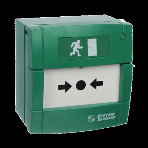 Элемент дистанционного управления электроконтактный УДП4A-G000SF-S214-01 (зеленый)