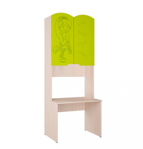 Письменный стол Юниор 3 лайм