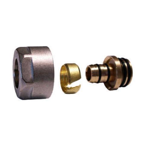 Резьбовое соединение для пластиковых труб античная медь GW 3/4-16x2