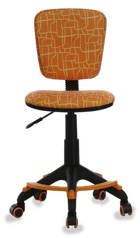 Кресло детское Бюрократ CH-204-F оранжевый жираф крестовина пластик подст.для ног