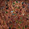 Пряжа Himalaya Yildiz 58107 (Медь с цветными пайетками)
